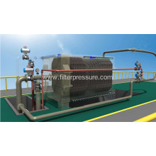 Filter-Cloth Washing Cast Iron Pharmacy Filter Press