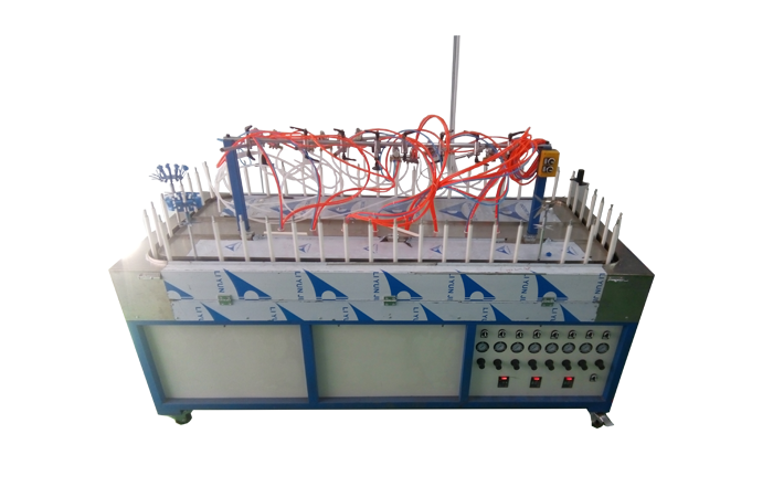 small automatic spray painting system