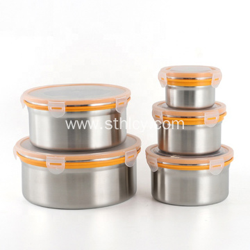 Mini Stainless Steel Bulk Food Storage Airtight Container