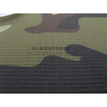 Polyester  Knitting  Camouflage Fabric for T-shirt