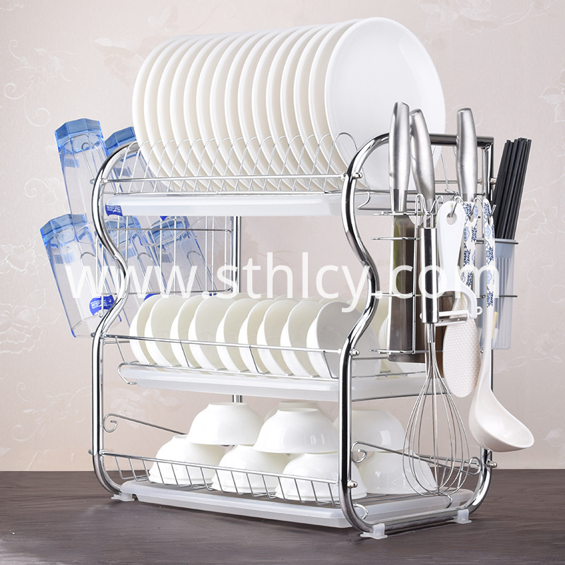 kitchen bowl storage rack