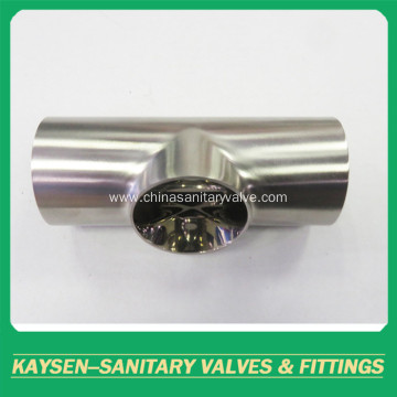 BS4825 Sanitary Tee short type pipe fittings