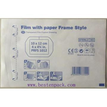 Paper-paper bag with Frame Coating