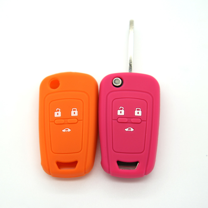 Car accessory- Silicone magnetic car key cover for Cruze -is no harm and environmentally friendly.When you hold a Cruze silicone key cover in your hand,it feels soft ,smooth and light.You will love auto embossed car key holder when you have it.