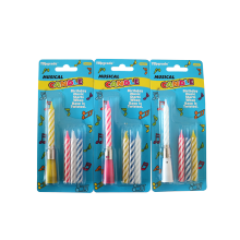 Happy birthday electronic fancy magic birthday candle