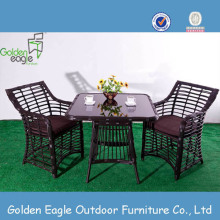 Slap-up Rattan Dining Table Set Grey Furniture