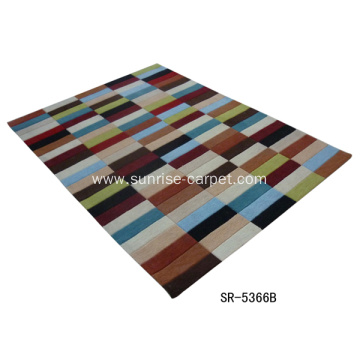 Hand-tufted Rug/Carpet with Pattern