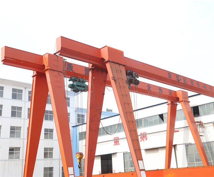 single girder goliath crane