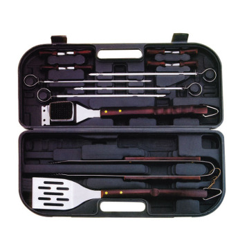 14pc BBQ set in plastic box