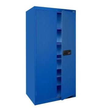 All Blue Metal Storage Cupboard