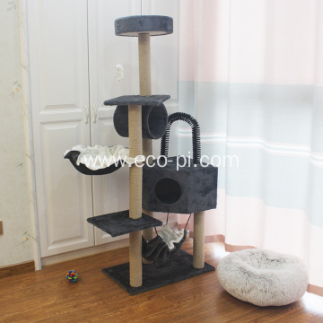 Cat Tree Scratching Toy Activity Centre Cat Tower
