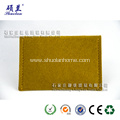 Promotional felt card bag with snap button