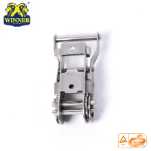 High Quality for Plastic Handle Ratchet Buckle Stainless Wide Handle Ratchet Buckles Tie Down Buckle supply to Vanuatu Importers