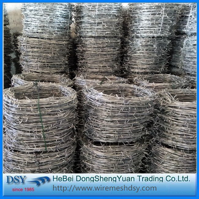 High Tensile Strength double Wire Barbed Iron Wire