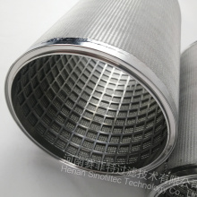 Best Price for for Air Filter Material SUS 316L Sintered Wire Mesh Filter cartridge supply to United States Exporter
