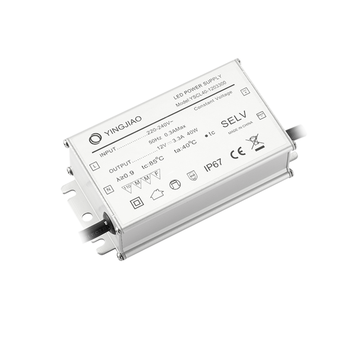 40W 100-240Vac Constant Voltage IP67 LED Power Supply