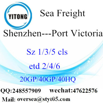 Shenzhen Port Sea Freight Shipping To Port Victoria