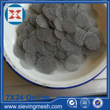China Factory for Stainless Steel Filter Disc Black Wire Cloth Filter Disc export to Uruguay Manufacturer