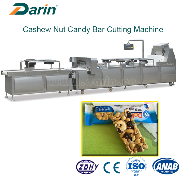 Cereal Bar Machine Equipped Cooling and Cutting System