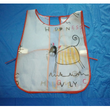 China Gold Supplier for PVC Bib Apron PEVA promotional kids painting apron supply to Japan Factory