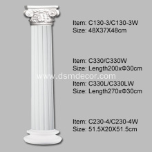 Fast Delivery for Architectural Columns Polyurethane Columns in Architecture for inside supply to Portugal Importers