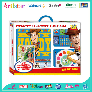 TOY STORY activity coloring set