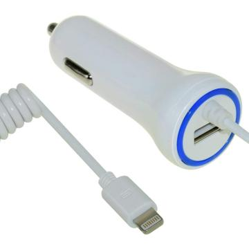 5V 4.8A USB Car Charger Lighting Extension Cable