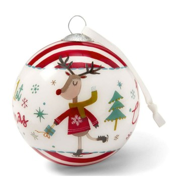 Reverse Paint Glass Ball Christmas Ornament Inside Painting