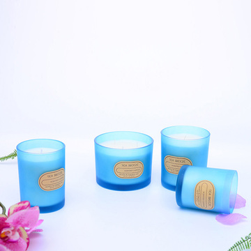 Fragrance Candle Wax Smoke Free Sandblast Cup Wax