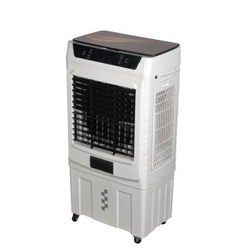 Glass Cover 8000CBM Airflow Cooler With Remote Control