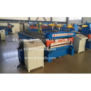 Automatic Metal Corrugated Roof Sheet Roll Forming Machine