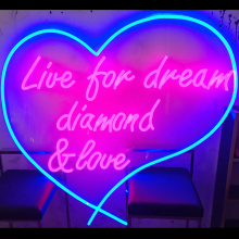 HEART SHAPED LED NEON LETTERS