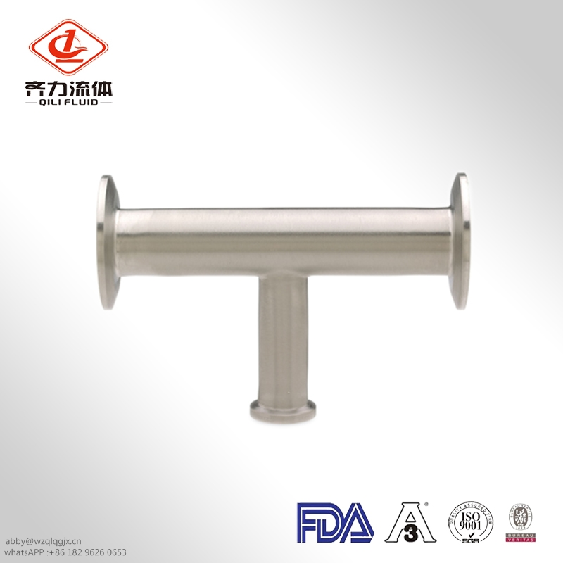 Sanitary Stainless Steel  Equal Tee 304/316L