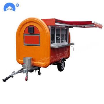 Vendita calda mobile Street Fast Food Carrelli Trailer