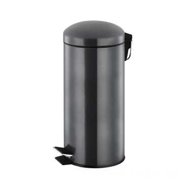 30 Litre Stainless Steel Round Shape Pedal Bin