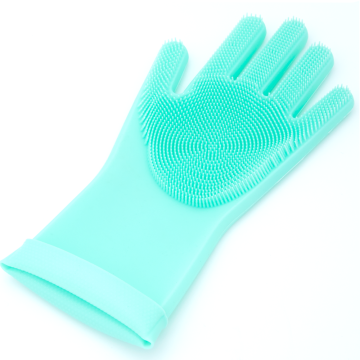 Hot Selling Silicone Washing Gloves Mitt