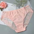Pink Color sexy panties cotton ladies underwear