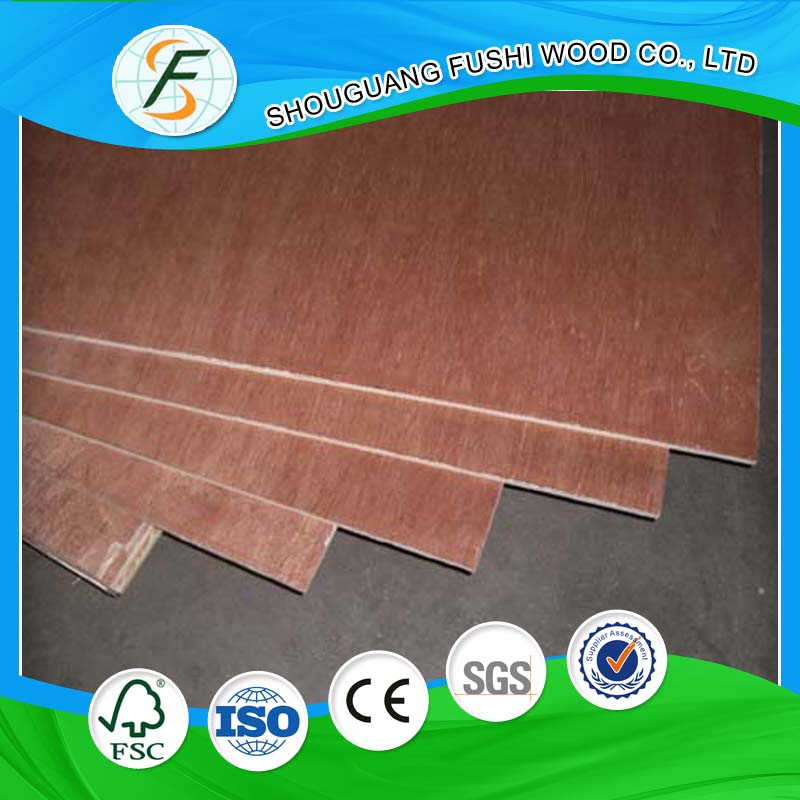 E1 Standard Indoor Use Poplar Plywood