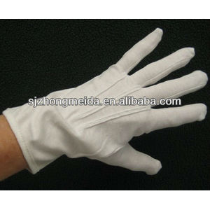 ceremional parade marching band gloves