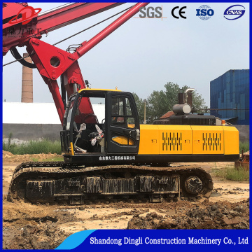DR-150 bore pile machine piling driver for road construction