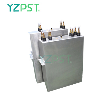 1.5KV Induction heating capacitor with 4 water cooled tubes