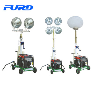 Industrial Emergency Mobile Construction Light Tower