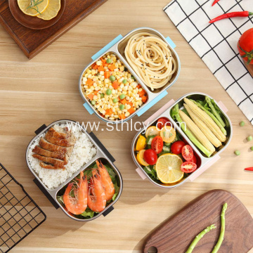 Stainless steel handle lunch box