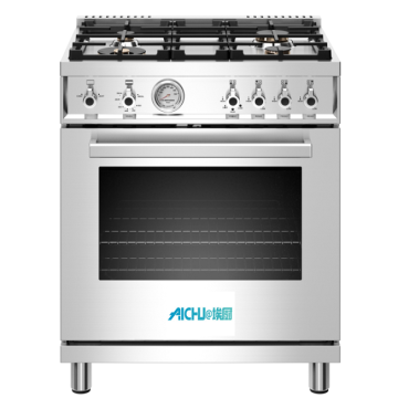 30 inch All Gas Range 4 Brass Burner