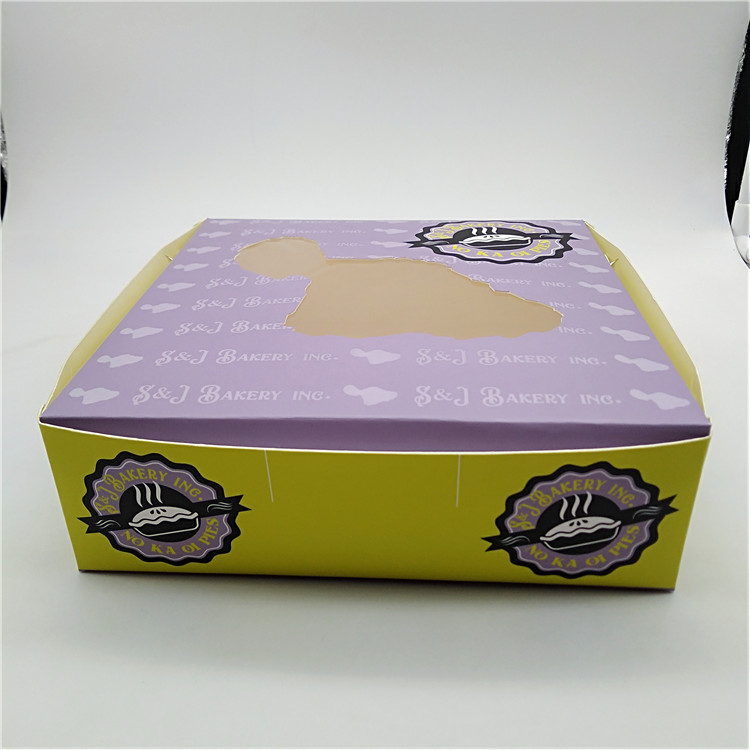 Paperboard Pie Box