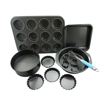 Wholesale Dealers of for Silicone Baking Mold Carbon Steel Pan Cookie Cutter Non-stick Baking Set supply to United States Wholesale