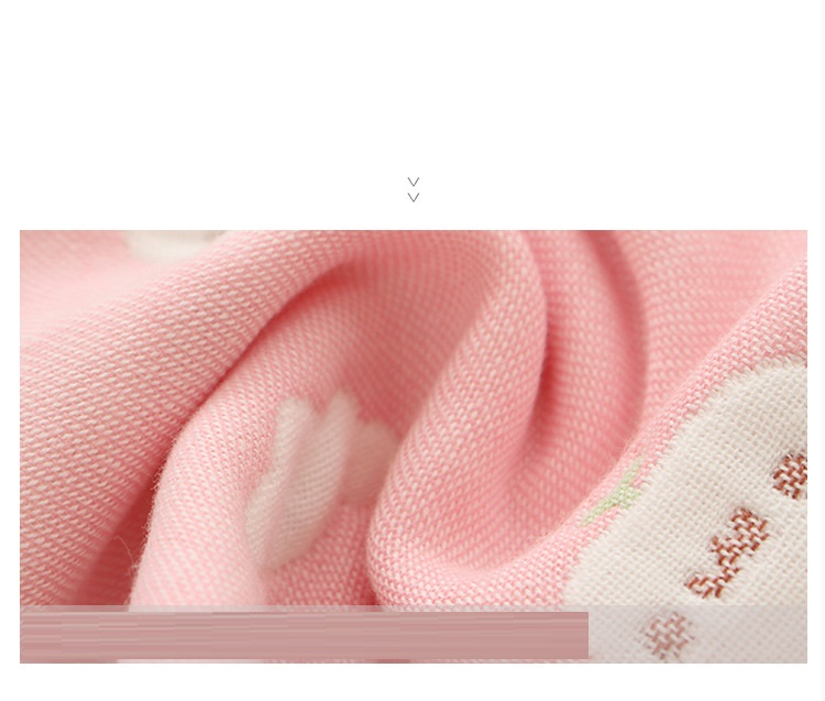 Factory direct selling six layers of children's lock edge cotton cotton children's gauze towel kindergarten water absorption face small towel (13)