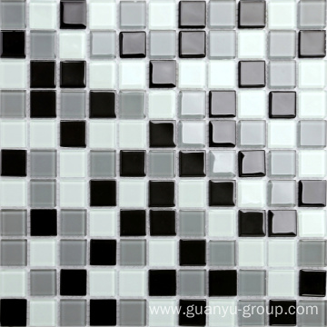 Glass Pure Color Mixed Mosaic
