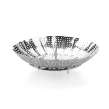 100% Food Grade Stainless Steel Seafood Steamer Basket