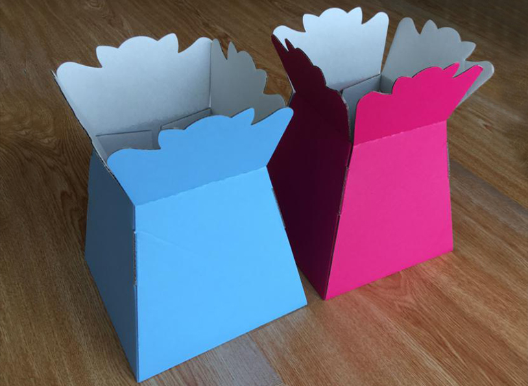 colorful Floral Packaging